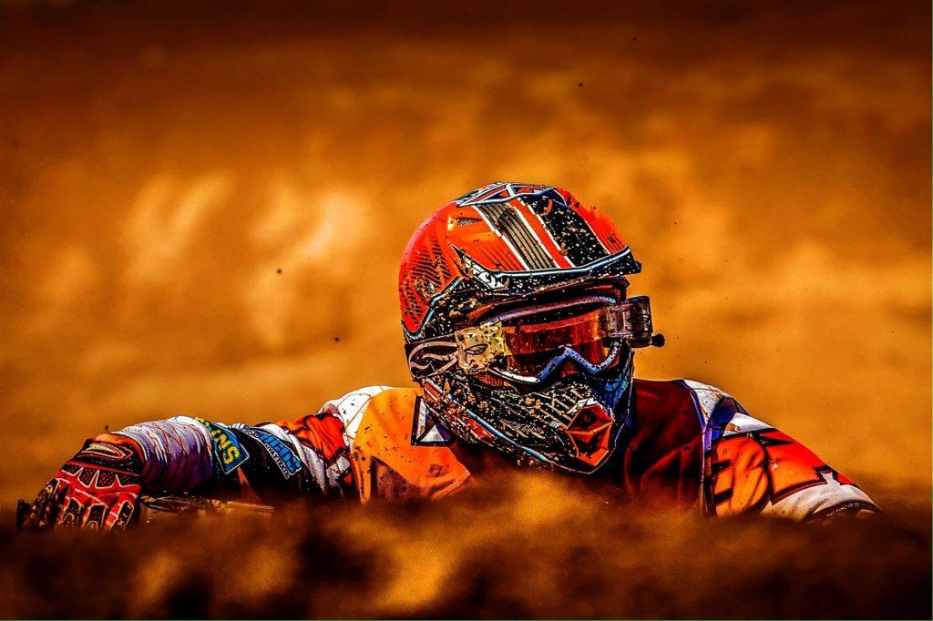 Casco para motocicleta - motocross 2
