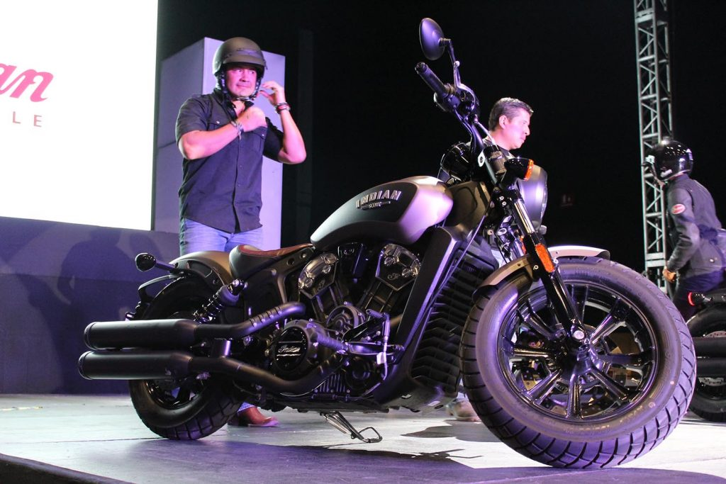 Lanzamientos expo moto 2017 Indian Scout Bobber