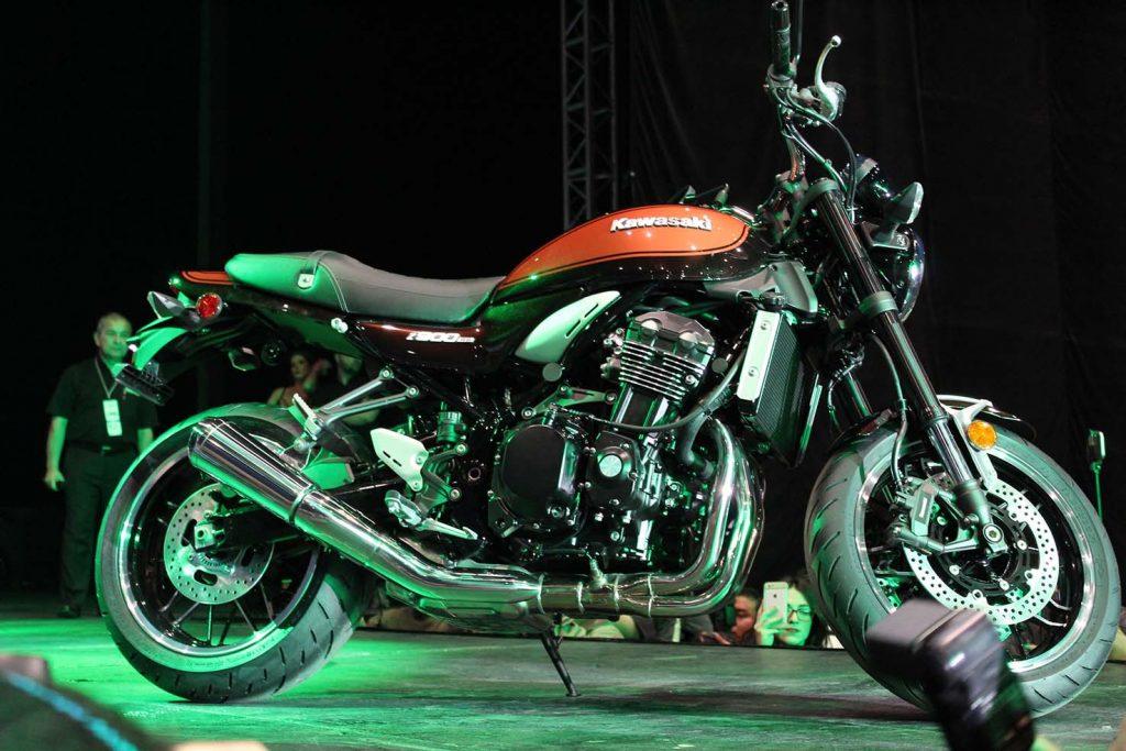 Lanzamientos expo moto 2017 Kawasaki Z900 RS 2