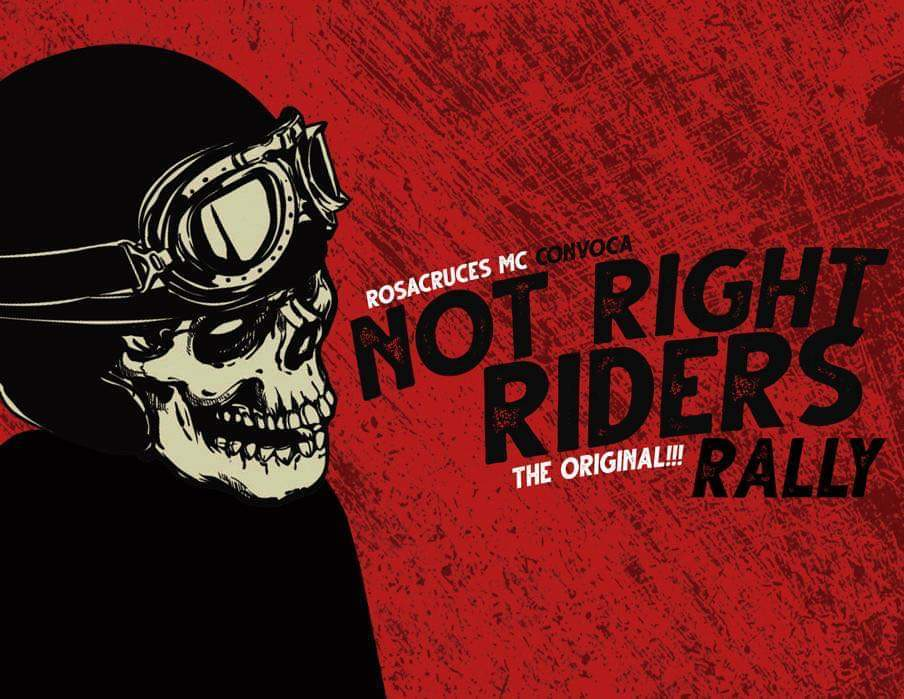 NOT RIGHT RIDERS RALLY 2020 by Rosacruces MC - IBA y AREM