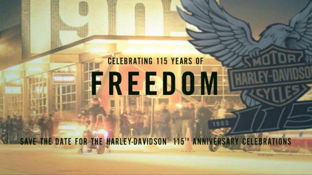 115 Aniversario Harley-Davidson en Milwaukee