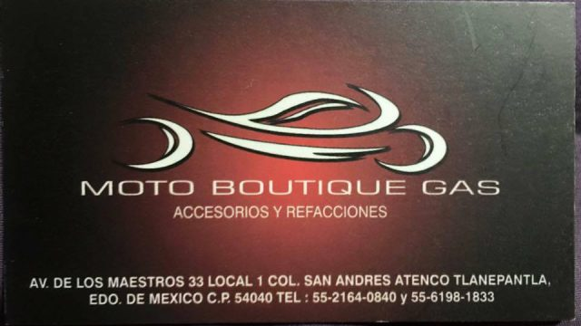 MOTO Boutique GAS