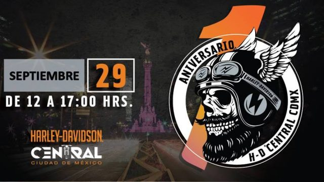 1er Aniversario – Harley-Davidson Central CDMX