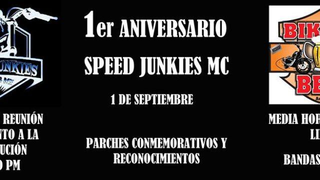 1er Aniversario Speed Junkies MC