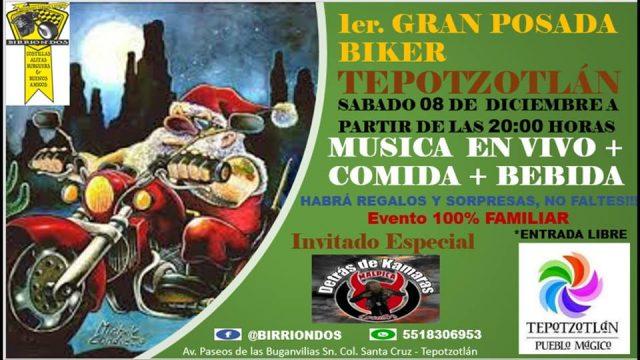 1er. Gran Posada Biker Tepotzotlán