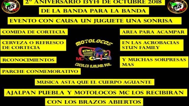 2° Aniversario MOTOLOCOS MC.