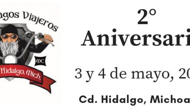 2° Aniversario Viejos Vagos Viajeros, 2019