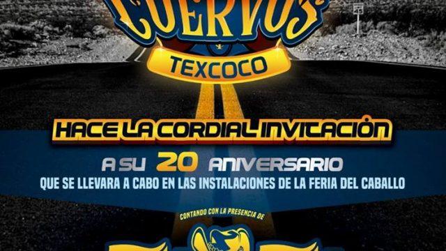 20 Aniversario Cuervos Texcoco