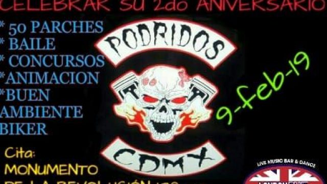 """2do ANIVERSARIO """"PODRIDOS"""""""
