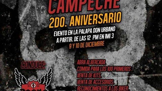 2do Aniversario Dragones Biker Campeche