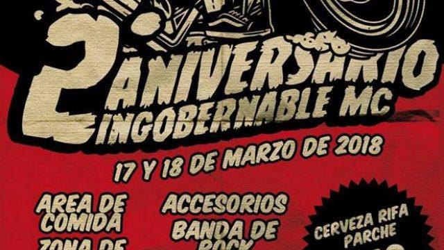 2do Aniversario Ingobernable MC