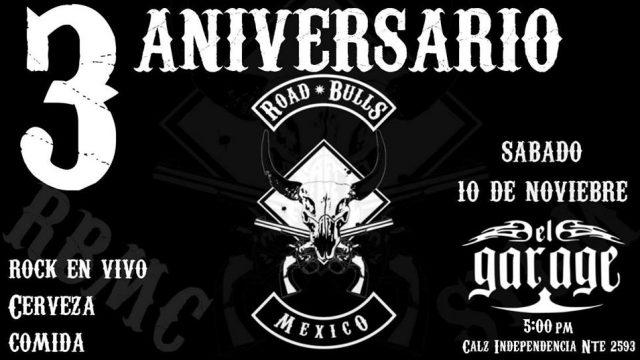 3er Aniversario Road Bulls MC