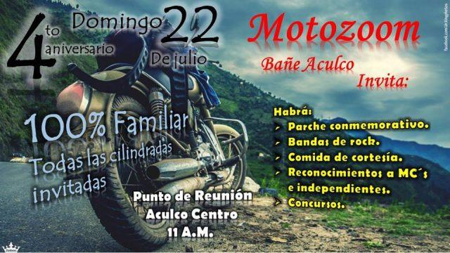4to Aniversario Motozoom