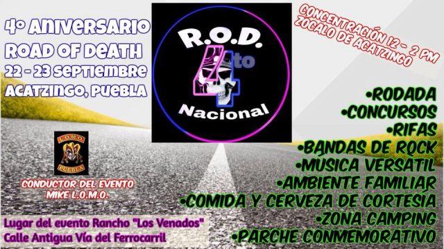 4to. Aniversario Road Of Death Acatzingo