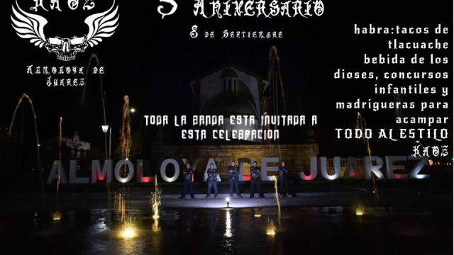 5 Aniversario Kaoz MC Almoloya De Juárez