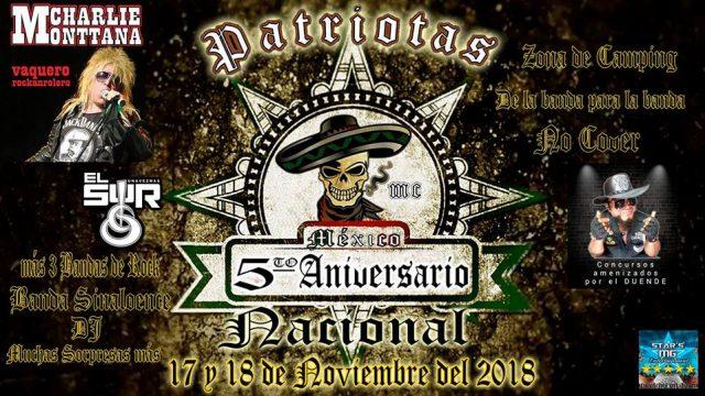 5to Aniversario Nacional Patriotas México
