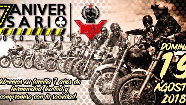 7 Aniversario Motoclub M3V