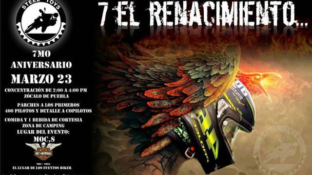 7 aniversario STEEL – Puebla