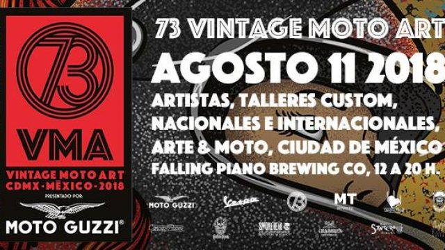 73 Vintage Moto Art 2018