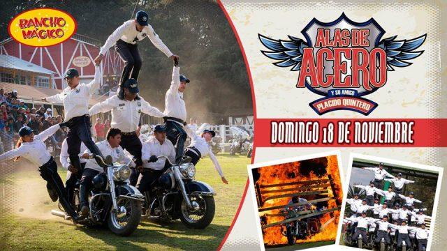 Acrobacias, motociclismo y emoción en Rancho Mágico