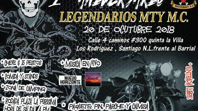 1er Aniversario Legendarios Monterrey MC