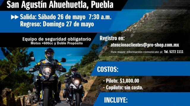 Aventura Proshop San Agustín Ahuehuetla
