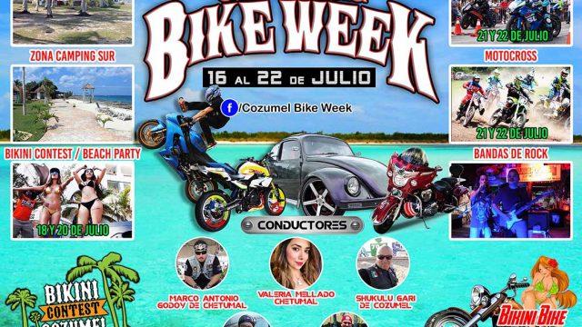 Cozumel Bike Week 2018 1a Edición