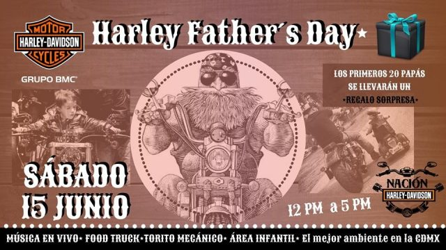 Día del Padre Nación Harley Davidson