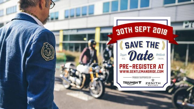 The Distinguished Gentleman's Ride 2018: en México, por una buena causa.