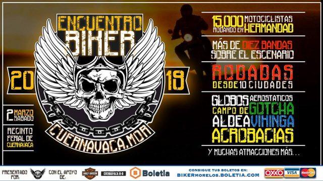 Encuentro Biker Morelos: Cuernavaca 2019