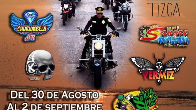 Fiesta Biker Tecolutla Veracruz México 2018