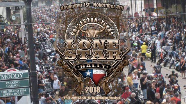 Lone Star Rally, Galveston, Custom Rock 1000millasx24hrs