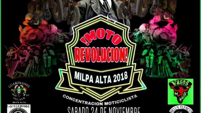MOTOREVOLUCION MILPA ALTA 2018