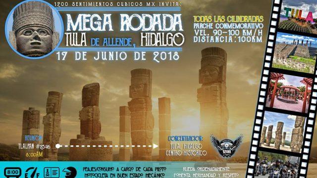 Mega-Rodada a Tula, Hidalgo 2018 – ¡Todas las cilindradas!