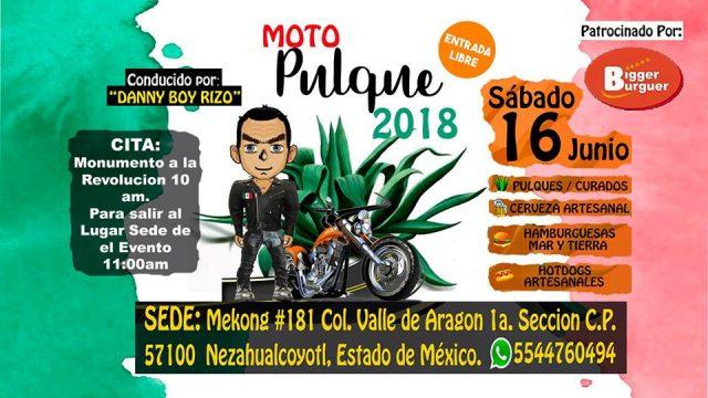 Moto Pulque 2018
