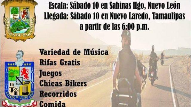 Moto Rally 2 x 3 de Saltillo, Sabinas Hgo, Nvo Laredo