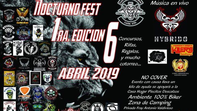 Nocturno Fest 1edicion – León, Guanajuato