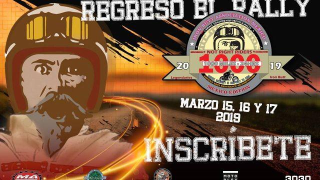 Not Right Rider Rally 1,000 millas en baja cilindrada