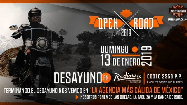 Open road 2019