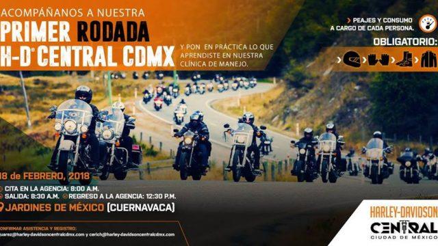 Primera rodada Harley-Davidson Central CDMX