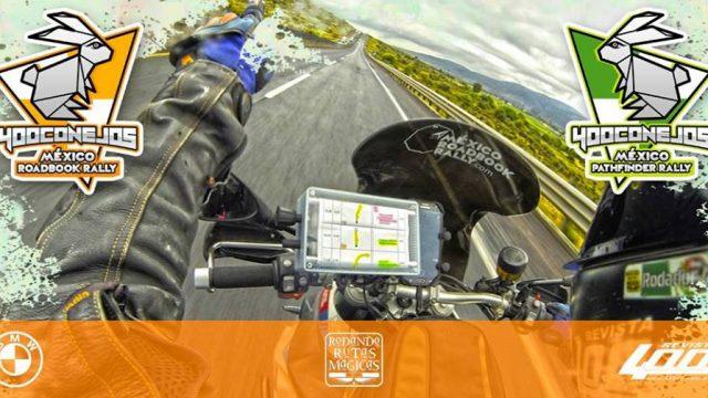 Rally 400 Conejos Navegación con Roadbook & Pathfinder