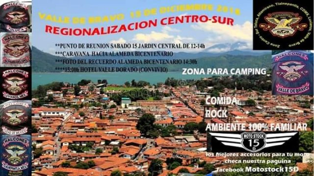 Regionalización CentroSur De Hermandad Internacional De Halcones