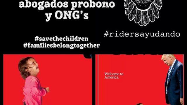 Riders Ayudando & Save the Children en Mexico