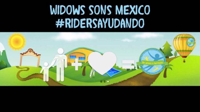 Riders Ayudando, rodada a Morelos