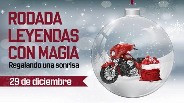 Rodada Leyendas con Magia Indian Motorcycle Toluca
