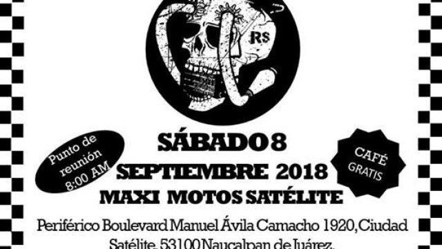 Rodada Racing Spirits-Triumph Maximoto, Centro Ceremonial Otomí