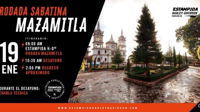Rodada Sabatina a Mazamitla – Jalisco