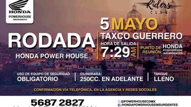 Rodada Taxco Guerrero