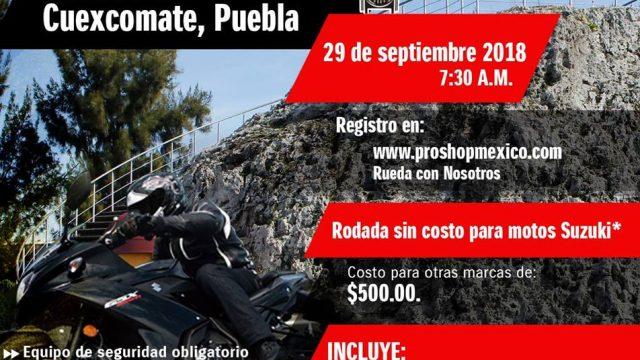 Rodada a Cuexcomate, Puebla