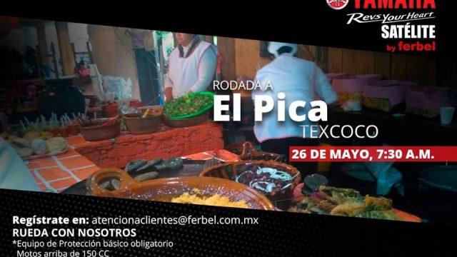 Rodada a El Pica, Texcoco